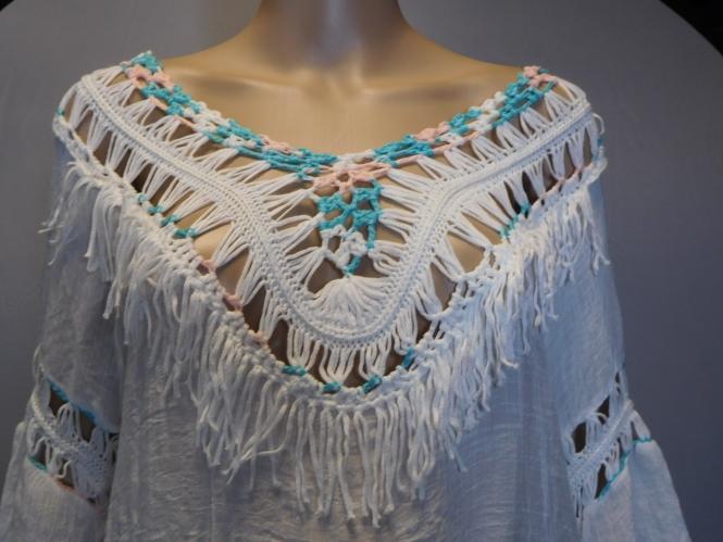 Italy Moda Bluse/Tunika im Ibizastyle