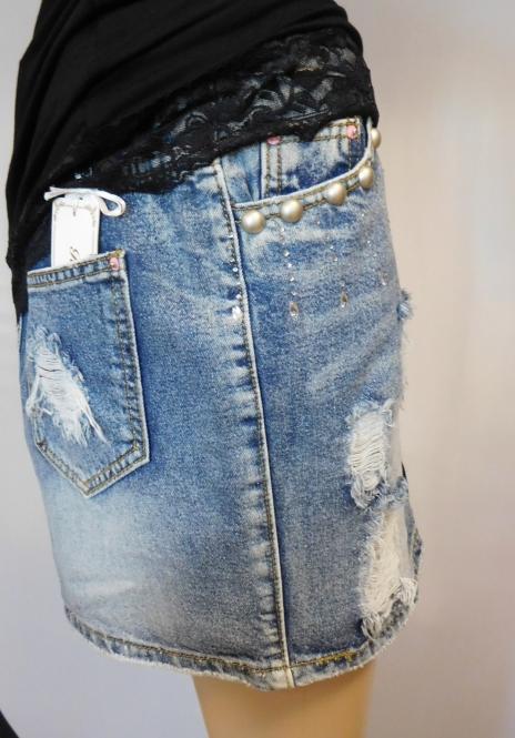"""Jeans Rock """"Love"""""""